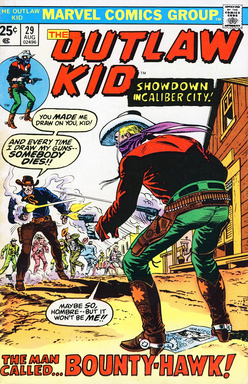 The Outlaw Kid (1970) issue 29 - Page 1