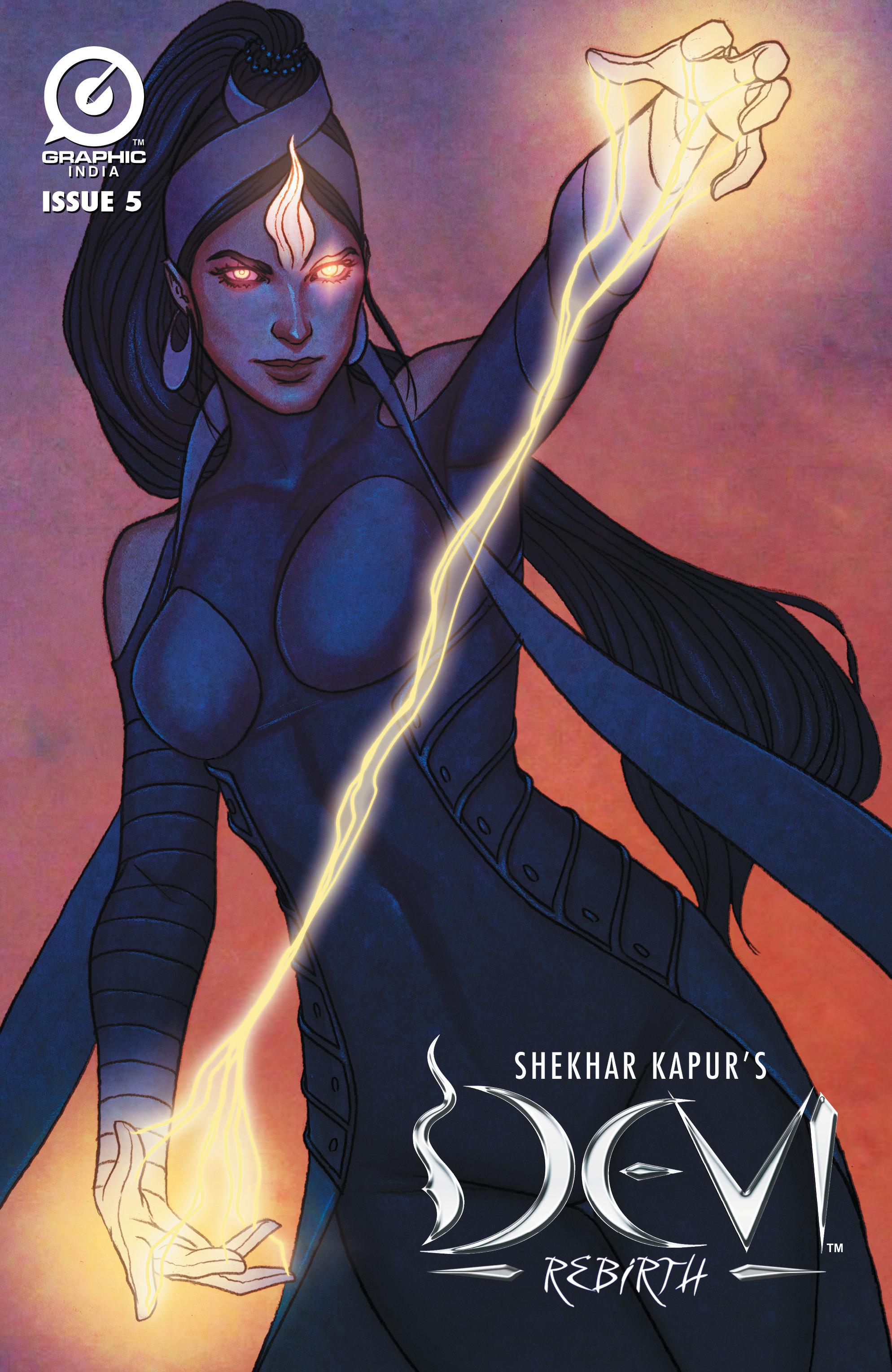 Read online Shekhar Kapur's Devi: Rebirth comic -  Issue #5 - 1