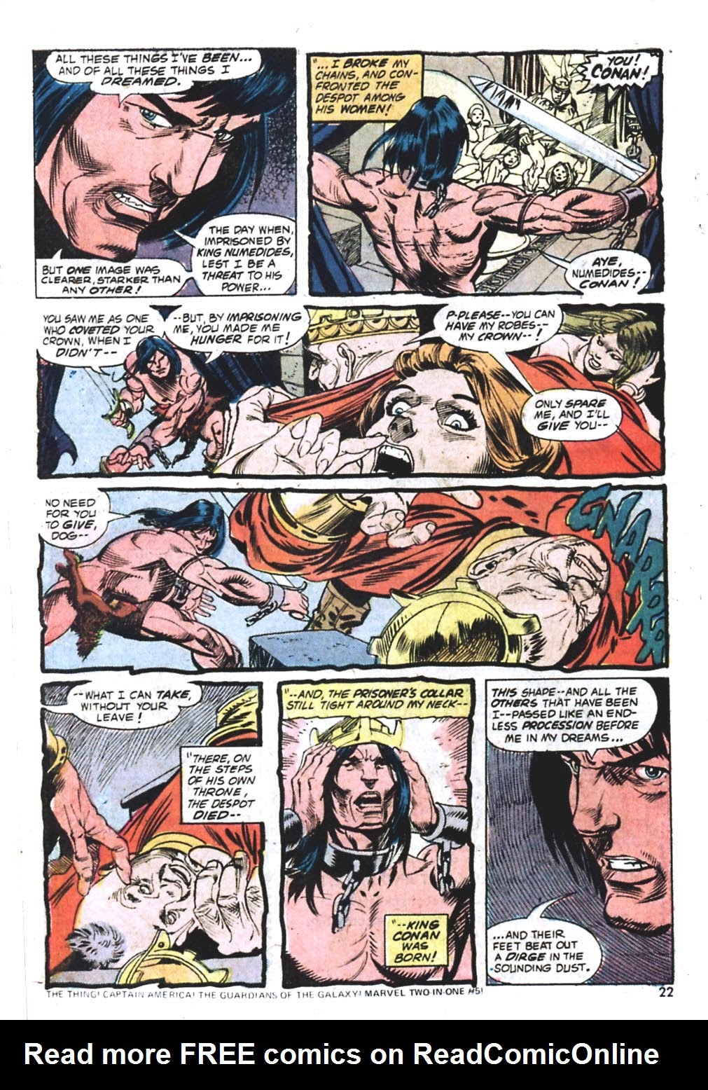 Giant-Size Conan issue 1 - Page 18