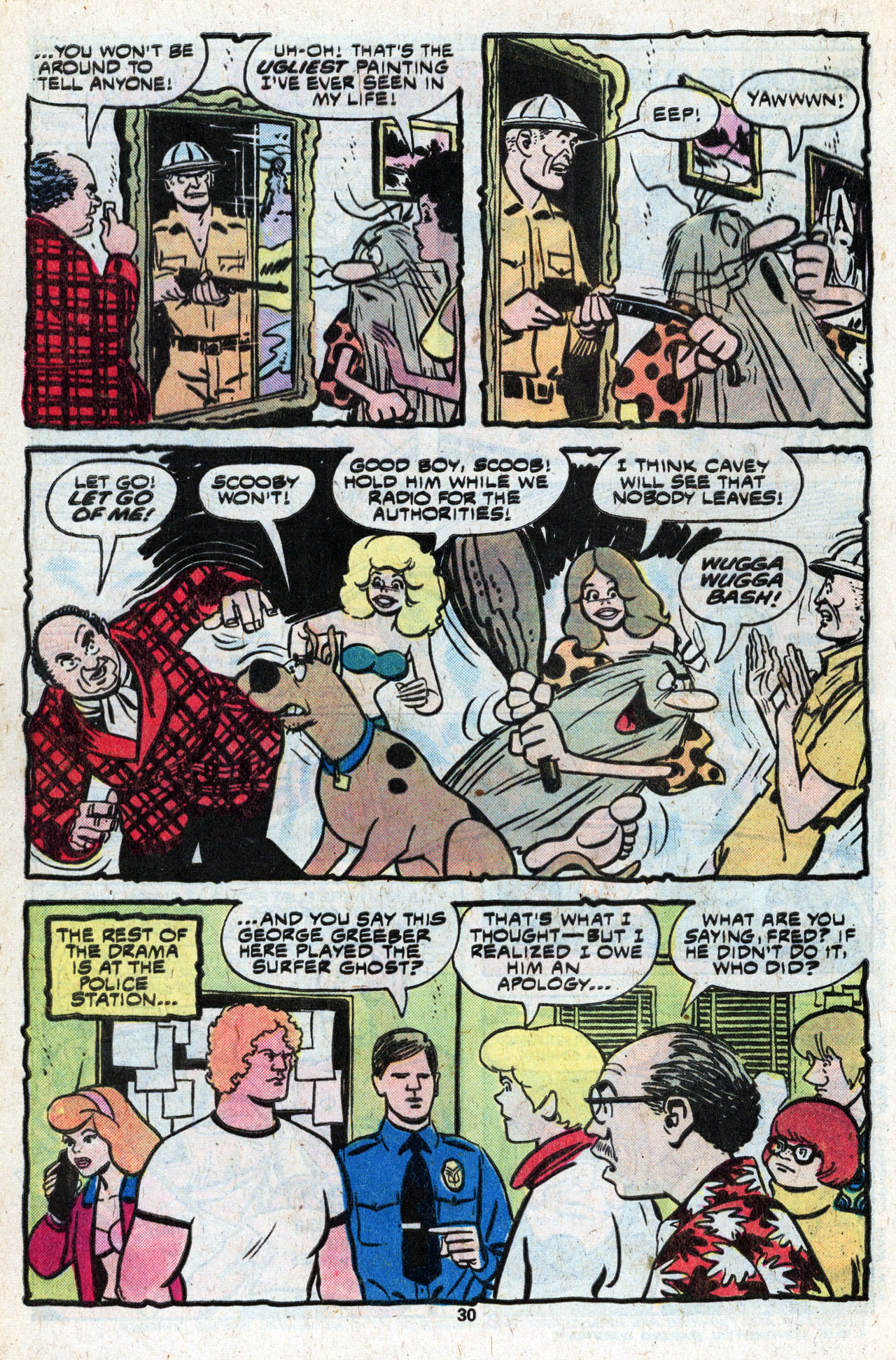 Read online Scooby-Doo (1977) comic -  Issue #9 - 32
