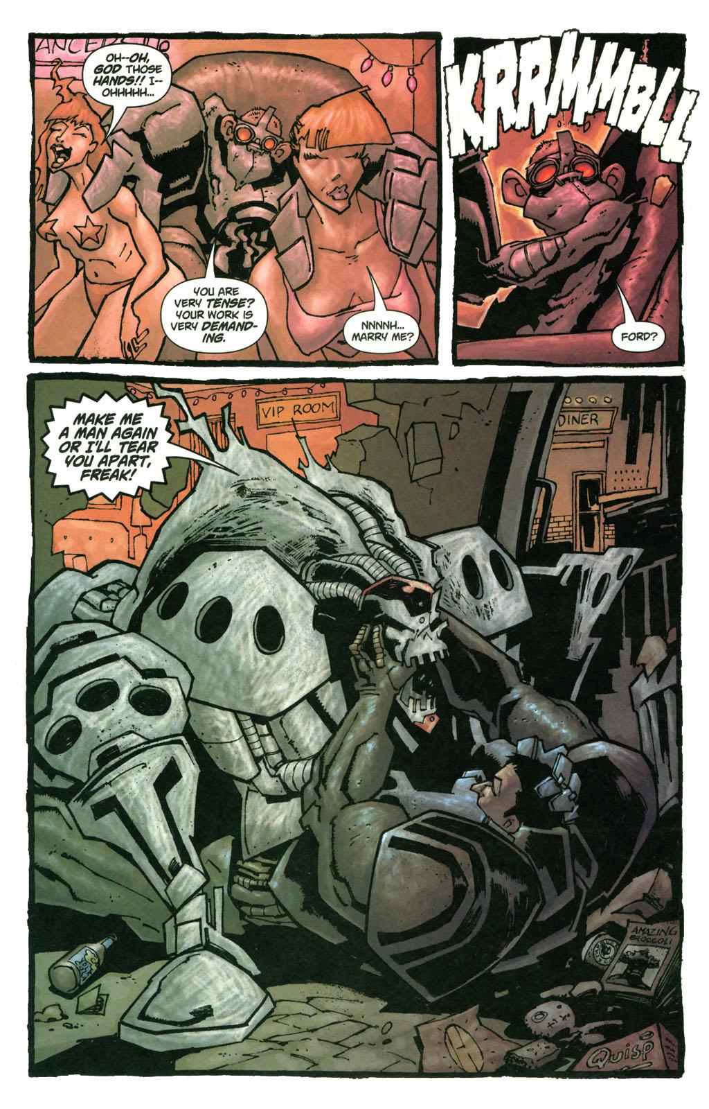 Read online Enginehead comic -  Issue #4 - 14