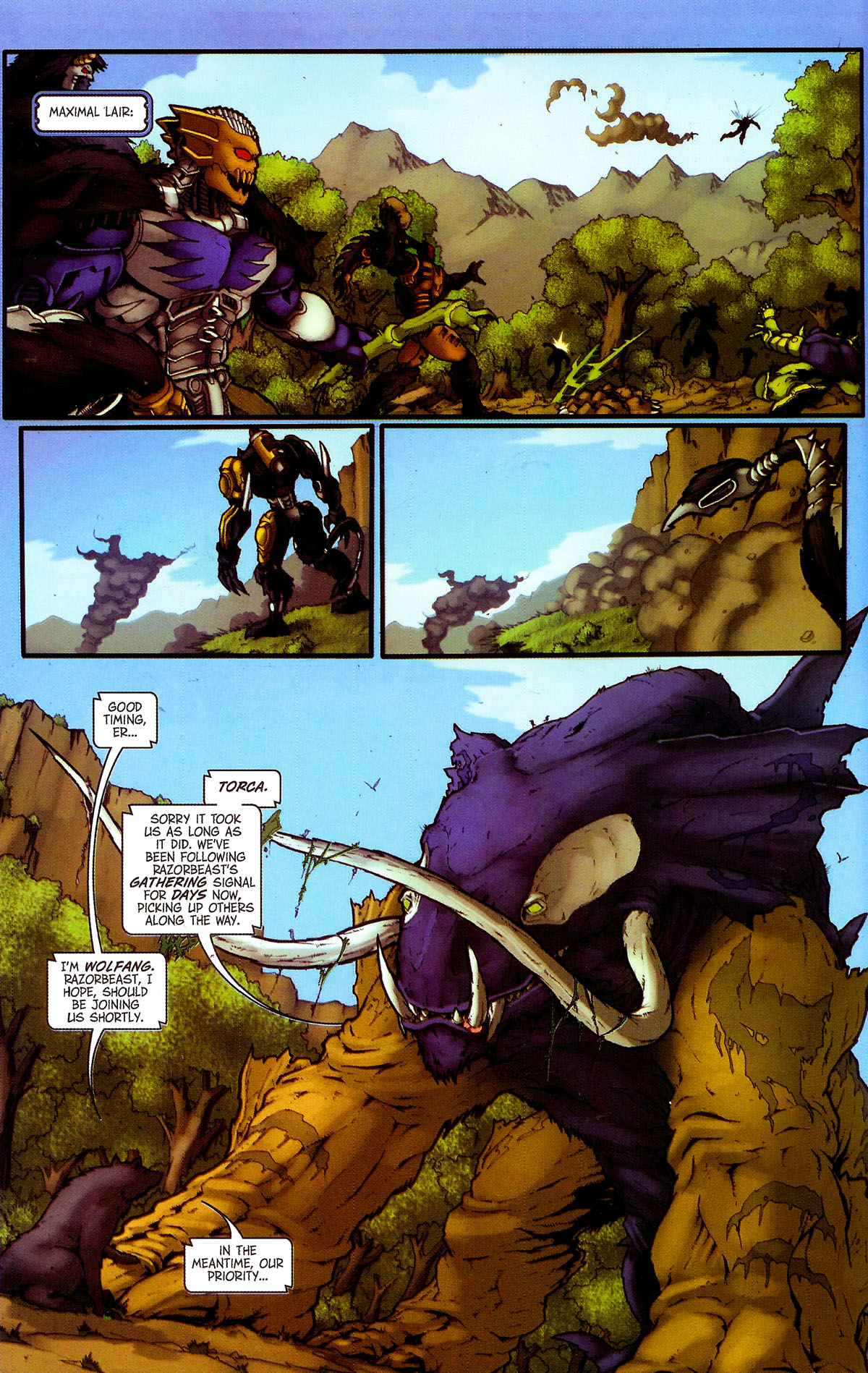 Read online Transformers, Beast Wars: The Gathering comic -  Issue #4 - 24