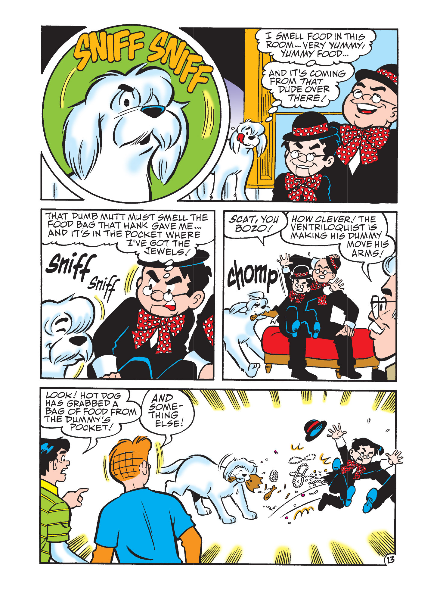 Read online Archie's Funhouse Double Digest comic -  Issue #3 - 77