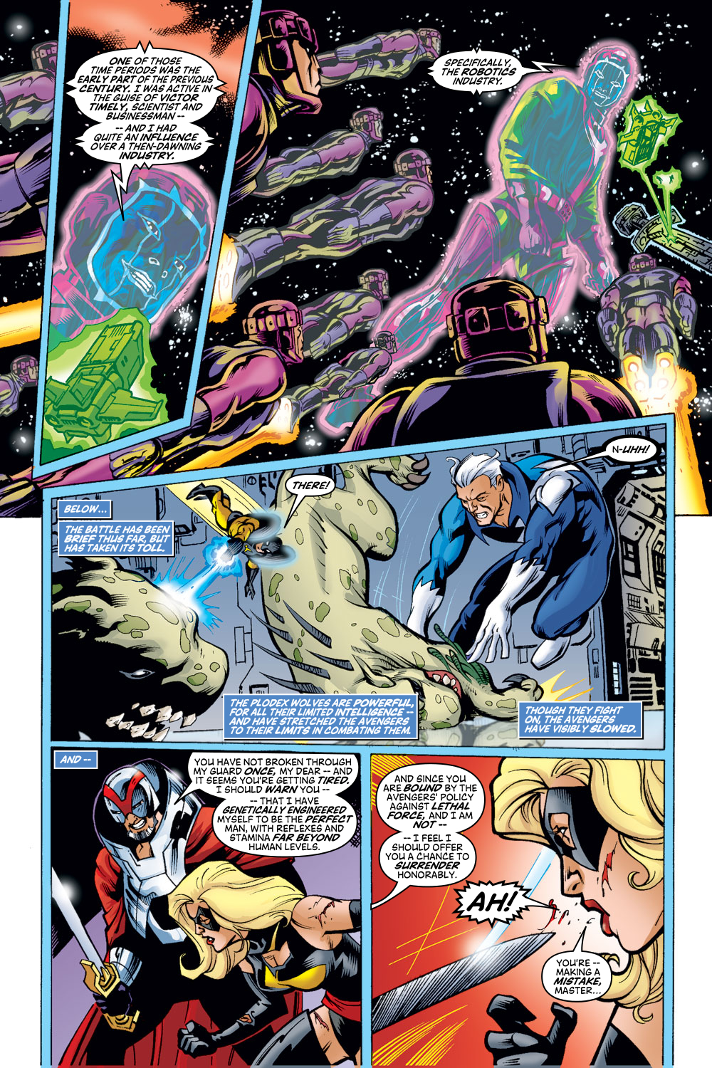 Read online Avengers (1998) comic -  Issue #48 - 18