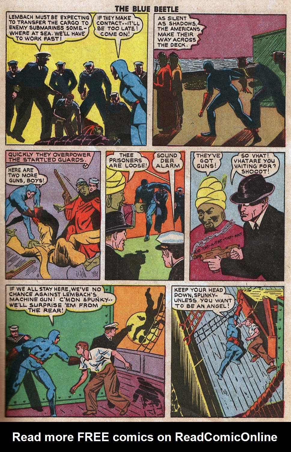 The Blue Beetle issue 33 - Page 11