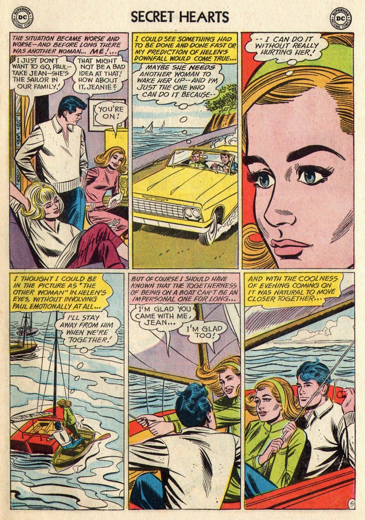 Read online Secret Hearts comic -  Issue #95 - 7