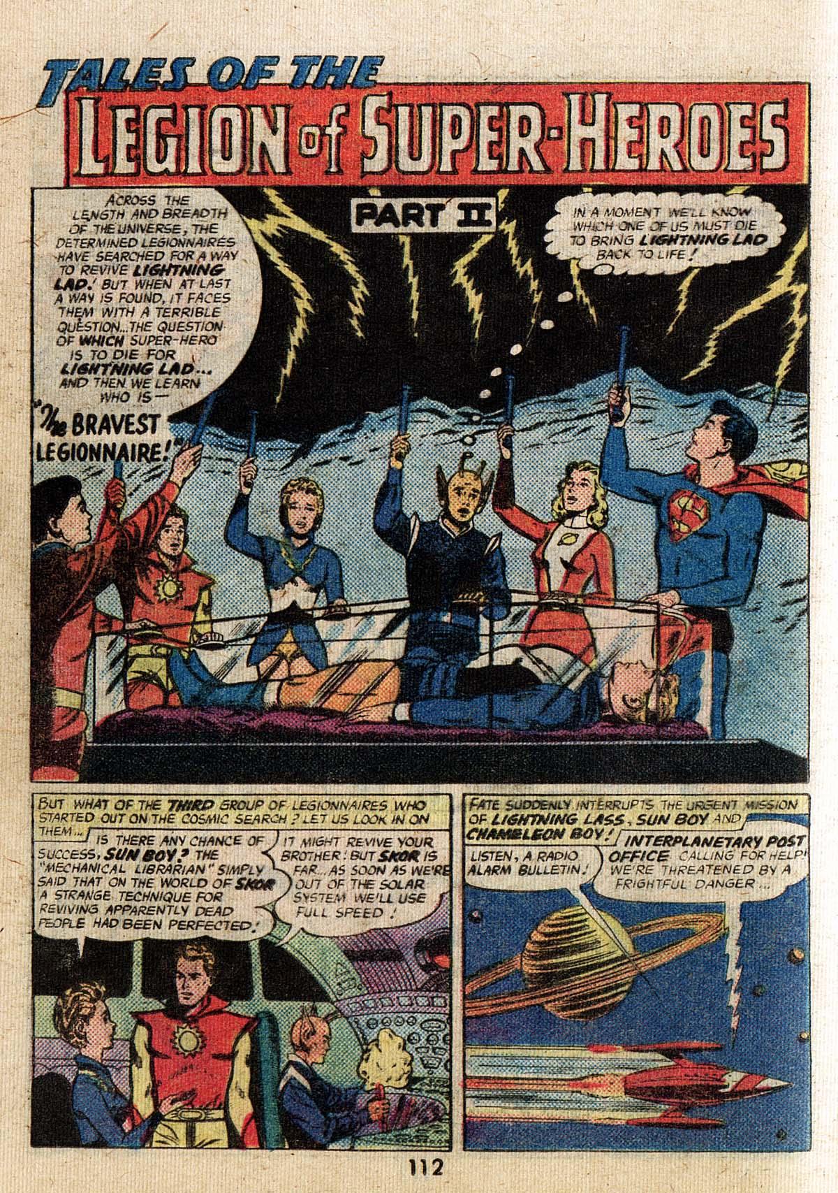 Read online Adventure Comics (1938) comic -  Issue #500 - 112