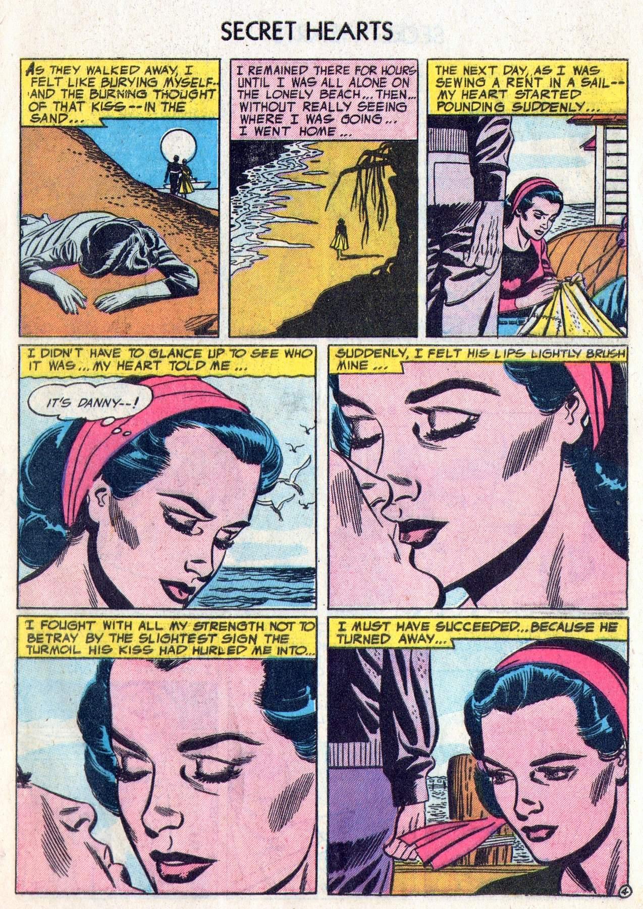 Read online Secret Hearts comic -  Issue #28 - 29